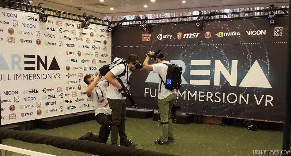 ARena - полное погружение в VR