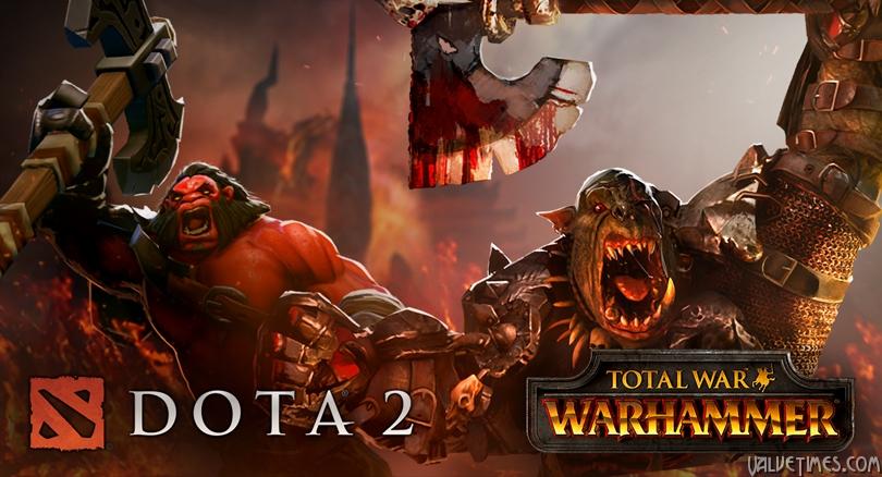 Предметы тематики Warhammer в Мастерской Dota 2