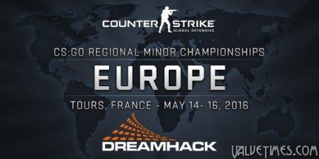 Региональный Чемпионат CS:GO в Европе.