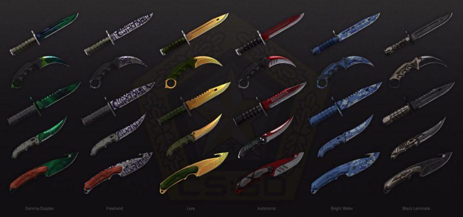 CSGO Gamma Knifes Ножи Гамма