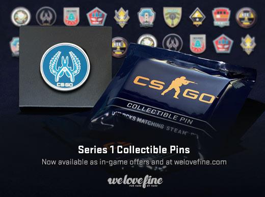 Коллекционные значки CS:GO серии 1