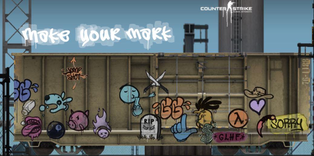 Обновление Граффити в CS:GO