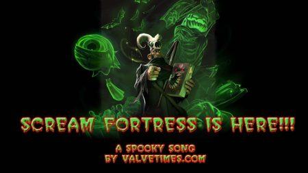 Страшная Песня о Scream Fortress (TF2)