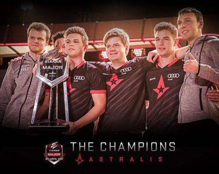 Атланта 2017 чемпионы CS:GO