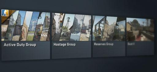 Новые группы карт CS:GO